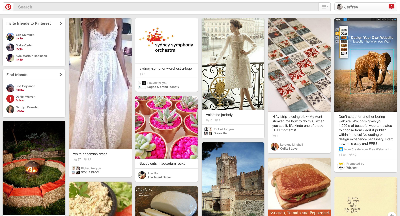 Using Pinterest